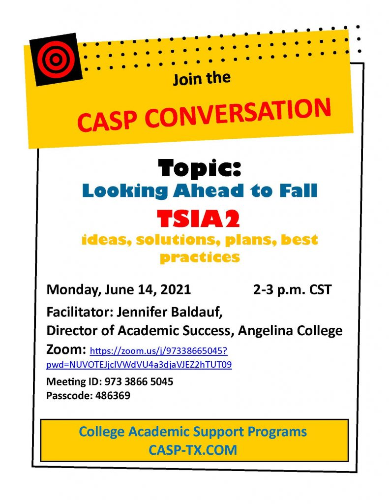 CASP Conversations June 2021 Flyer